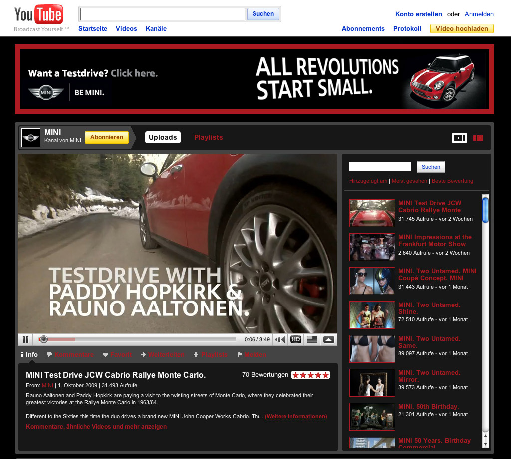 Mini Youtube Brand Channel Design In Motion Smeiducom